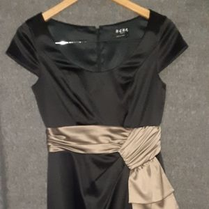 Bcbg Paris 2 dress satin event tie